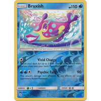 Bruxish 48/149 SM Base Set Reverse Holo Rare Pokemon Card NEAR MINT TCG