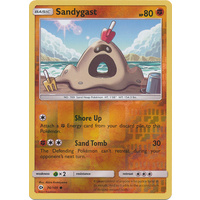 Sandygast 74/149 SM Base Set Reverse Holo Common Pokemon Card NEAR MINT TCG