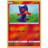 Litten 15/73 SM Shining Legends Reverse Holo Common Pokemon Card NEAR MINT TCG