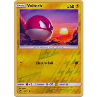 Voltorb 30/73 SM Shining Legends Reverse Holo Common Pokemon Card NEAR MINT TCG