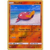 Stunfisk 46/73 SM Shining Legends Reverse Holo Common Pokemon Card NEAR MINT TCG