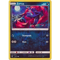Zorua 52/73 SM Shining Legends Reverse Holo Common Pokemon Card NEAR MINT TCG
