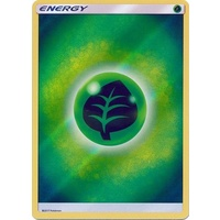 Grass Energy SM Shining Legends Reverse Holo Pokemon Card NEAR MINT TCG