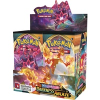 Pokemon SWSH DARKNESS ABLAZE Booster Box BRAND NEW AND SEALED 36 packs