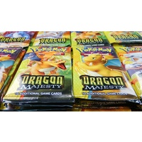 Pokemon SM Dragon Majesty BRAND NEW TCG 36 loose booster packs