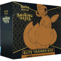 Pokemon Shining Fates Elite Trainer Box BRAND NEW AND SEALED