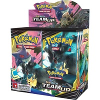 Pokemon SM9 Team Up Booster Box BRAND NEW AND SEALED 36 packs cheaper price if you scan codes back to us!