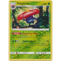 Vileplume 6/147 SM Burning Shadows Reverse Holo Rare Pokemon Card NEAR MINT TCG