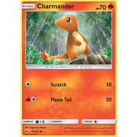Charmander 18/147 SM Burning Shadows Common Pokemon Card NEAR MINT TCG