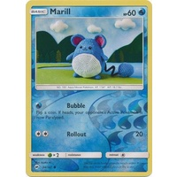 Marill 34/147 SM Burning Shadows Reverse Holo Common Pokemon Card NEAR MINT TCG