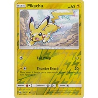 Pikachu 40/147 SM Burning Shadows Reverse Holo Common Pokemon Card NEAR MINT TCG