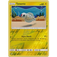 Tynamo 44/147 SM Burning Shadows Reverse Holo Common Pokemon Card NEAR MINT TCG