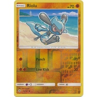 Riolu 70/147 SM Burning Shadows Reverse Holo Common Pokemon Card NEAR MINT TCG