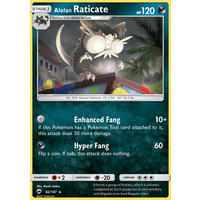 Alolan Raticate 82/147 SM Burning Shadows Rare Pokemon Card NEAR MINT TCG