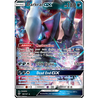 Darkrai GX 88/147 SM Burning Shadows Ultra Rare Holo Pokemon Card NEAR MINT TCG