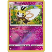 Ribombee 96/147 SM Burning Shadows Reverse Holo Uncommon Pokemon Card NEAR MINT TCG