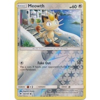 Meowth 101/147 SM Burning Shadows Reverse Holo Common Pokemon Card NEAR MINT TCG