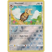 Noctowl 107/147 SM Burning Shadows Reverse Holo Uncommon Pokemon Card NEAR MINT TCG