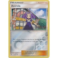 Acerola 112/147 SM Burning Shadows Reverse Holo Uncommon Trainer Pokemon Card NEAR MINT TCG