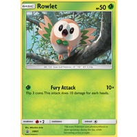 Rowlet SM01 Black Star Promo Pokemon Card NEAR MINT TCG