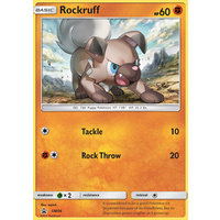 Rockruff SM06 Black Star Promo Pokemon Card NEAR MINT TCG