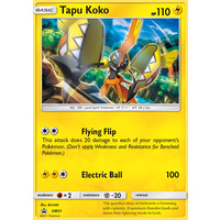 Tapu Koko SM31 Black Star Promo Pokemon Card NEAR MINT TCG