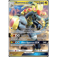 Kommo-o GX SM71 Black Star Promo Pokemon Card NEAR MINT TCG