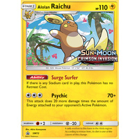 Alolan Raichu SM72 Black Star Promo Pokemon Card NEAR MINT TCG