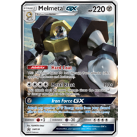 Melmetal GX SM178 Holo Ultra Rare Black Star Promo Pokemon Card NEAR MINT TCG