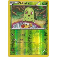 Chikorita 1/122 XY Breakpoint Reverse Holo Common Pokemon Card NEAR MINT TCG