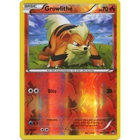 Growlithe 10/122 XY Breakpoint Reverse Holo Common Pokemon Card NEAR MINT TCG
