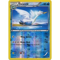 Swanna 37/122 XY Breakpoint Reverse Holo Uncommon Pokemon Card NEAR MINT TCG