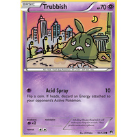 Trubbish 56/122 XY Breakpoint Common Pokemon Card NEAR MINT TCG