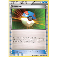Great Ball 100/122 XY Breakpoint Uncommon Trainer Pokemon Card NEAR MINT TCG