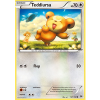 Teddiursa 121/162 XY Breakthrough Common Pokemon Card MINT TCG