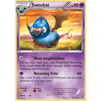 Swoobat 72/162 XY Breakthrough Uncommon Pokemon Card MINT TCG