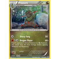 Fraxure 110/162 XY Breakthrough Uncommon Pokemon Card MINT TCG