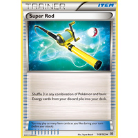 Super Rod 149/162 XY Breakthrough Uncommon Trainer Pokemon Card MINT TCG