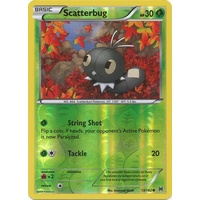Scatterbug 13/162 XY Breakthrough Reverse Holo Common Pokemon Card MINT TCG