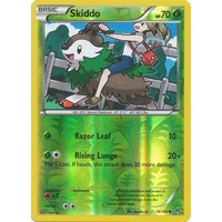 Skiddo 16/162 XY Breakthrough Reverse Holo Common Pokemon Card MINT TCG