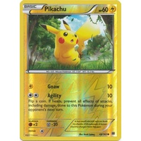 Pikachu 48/162 XY Breakthrough Reverse Holo Common Pokemon Card MINT TCG