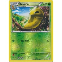 Kakuna 2/160 XY Primal Clash Reverse Holo Uncommon Pokemon Card NEAR MINT TCG