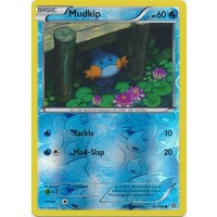 Mudkip 33/160 XY Primal Clash Reverse Holo Common Pokemon Card NEAR MINT TCG