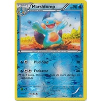 Marshtomp 34/160 XY Primal Clash Reverse Holo Uncommon Pokemon Card NEAR MINT TCG
