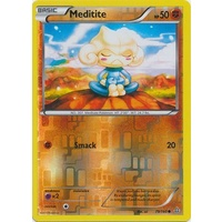 Meditite 79/160 XY Primal Clash Reverse Holo Common Pokemon Card NEAR MINT TCG