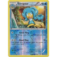 Simipour 42/162 XY Breakthrough Reverse Holo Rare Pokemon Card MINT TCG