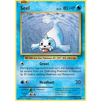 Seel 28/108 XY Evolutions Common Pokemon Card NEAR MINT TCG