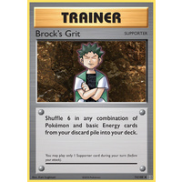 Brock's Grit 74/108 XY Evolutions Uncommon Trainer Pokemon Card NEAR MINT TCG