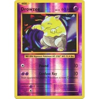Drowzee 49/108 XY Evolutions Reverse Holo Common Pokemon Card NEAR MINT TCG