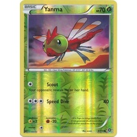 Yanma 6/114 XY Steam Siege Reverse Holo Common Pokemon Card NEAR MINT TCG